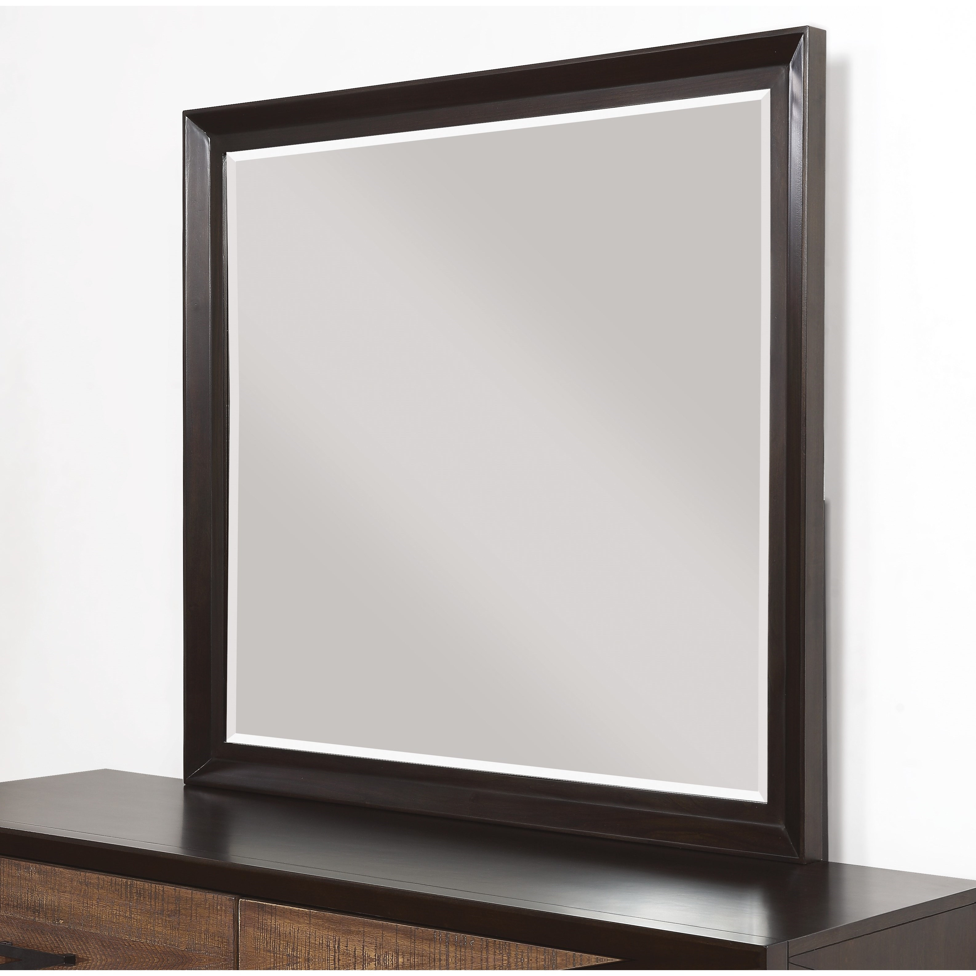 Alpine Dresser Mirror by Flexsteel Wynwood Collection at Home Collections Furniture