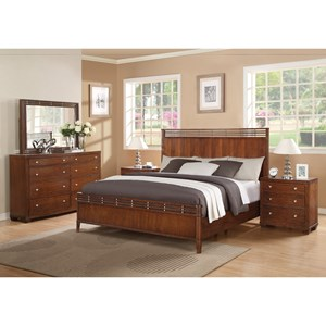Flexsteel Wynwood Collection Bali Queen Bedroom Group