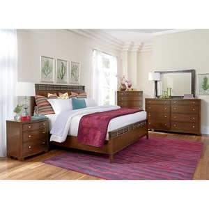Flexsteel Wynwood Collection Bali California King Bedroom Group