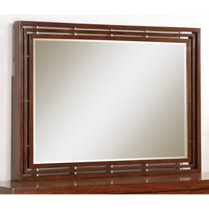 Flexsteel Wynwood Collection Bali Mirror