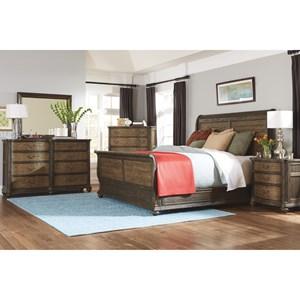 Flexsteel Wynwood Collection Bordeaux Queen Bedroom Group