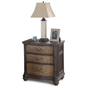 Flexsteel Wynwood Collection Bordeaux Night Stand