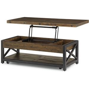 Calahan Castered  Lift Top Cocktail Table