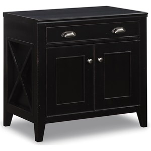 Flexsteel Wynwood Collection Camden Contemporary Cabinet