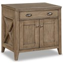 Flexsteel Wynwood Collection Camden Contemporary Cabinet  - Item Number: W1336-753