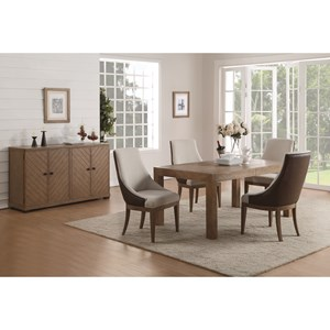 Wynwood, A Flexsteel Company Carmen Formal Dining Room Group