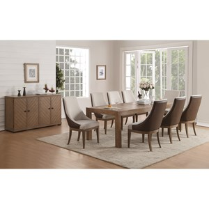 Flexsteel Wynwood Collection Carmen Formal Dining Room Group