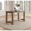 Flexsteel Wynwood Collection Carmen Counter Height Table - Item Number: W1146-835