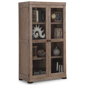 Flexsteel Wynwood Collection Carmen Closed Bookcase