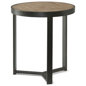 Flexsteel Wynwood Collection Carmen Short Bunching Table