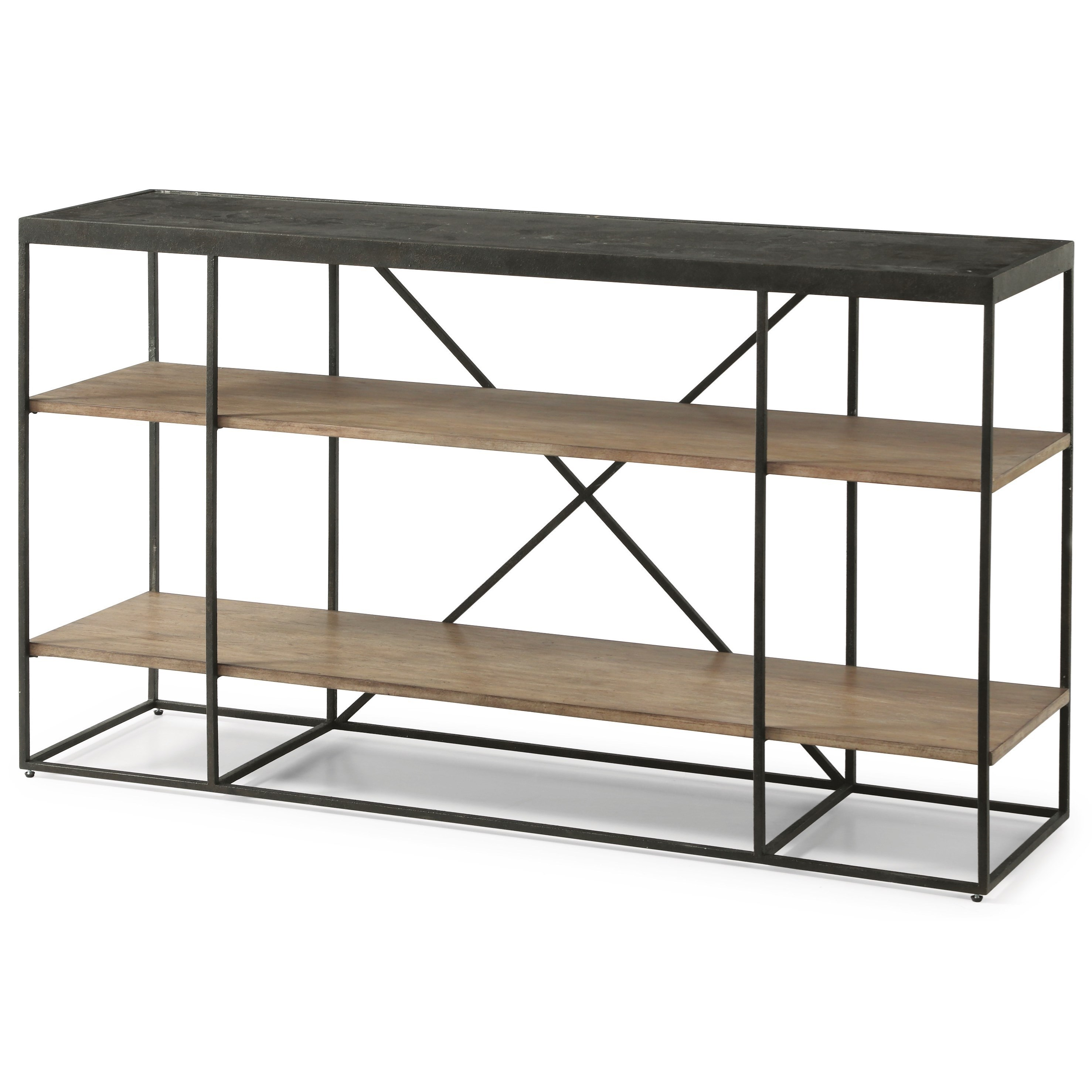Compter Compter Sofa Table by Flexsteel Wynwood Collection at Morris Home
