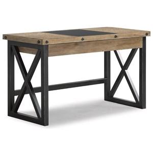 Rustic Industrial Lift-Top Desk