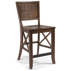 Flexsteel Wynwood Collection Carpenter Counter Chair