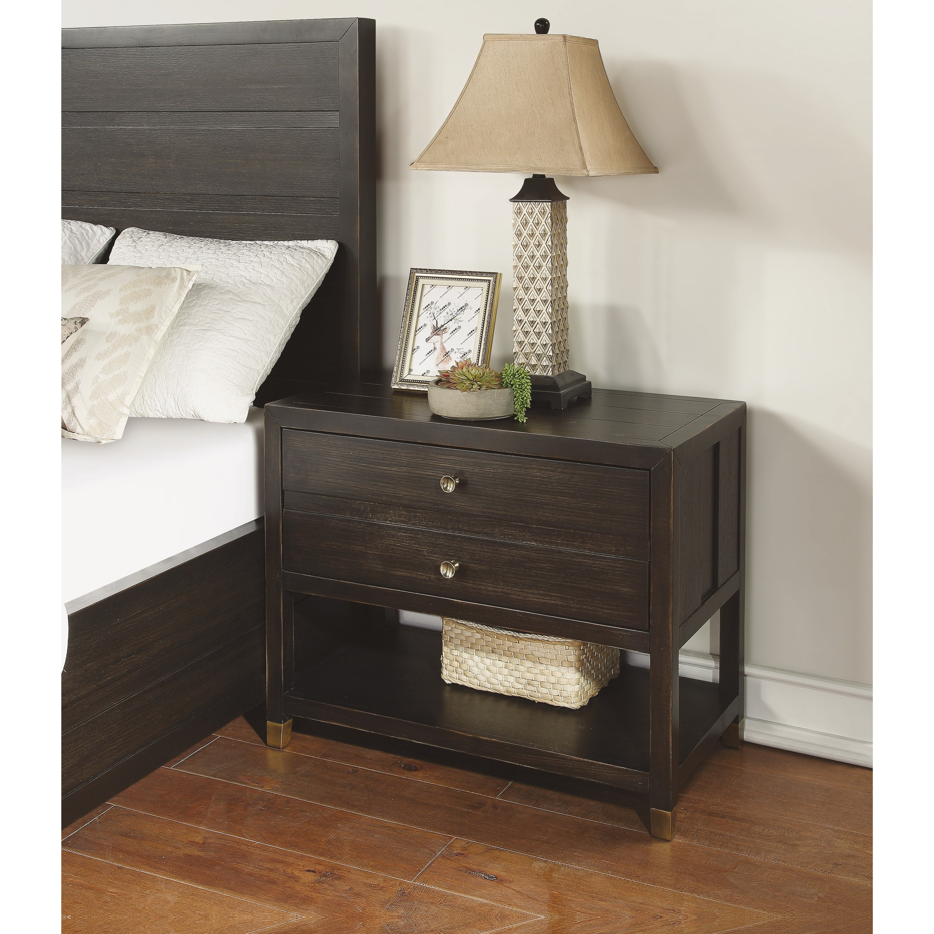 Cologne Nightstand by Flexsteel Wynwood Collection at Northeast Factory Direct