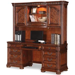 Flexsteel Wynwood Collection Cordoba Credenza with Hutch