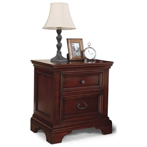 Flexsteel Wynwood Collection Downton Traditional Night Stand