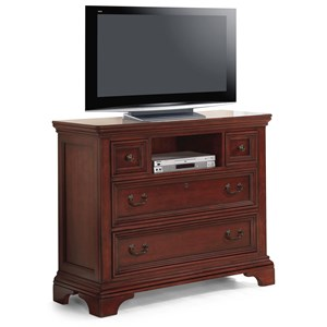 Flexsteel Wynwood Collection Downton Traditional Media Chest