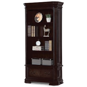 Flexsteel Wynwood Collection Eastchester Traditional File Bookcase