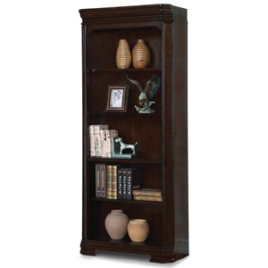 Flexsteel Wynwood Collection Eastchester Traditional Bookcase