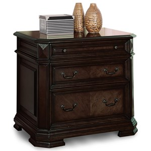 Flexsteel Wynwood Collection Eastchester Traditional Lateral File Cabinet