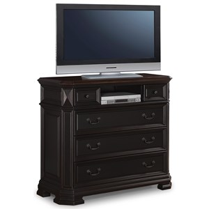 Flexsteel Wynwood Collection Eastchester Traditional Media Chest
