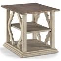 Flexsteel Wynwood Collection Estate End Table - Item Number: W1064-01