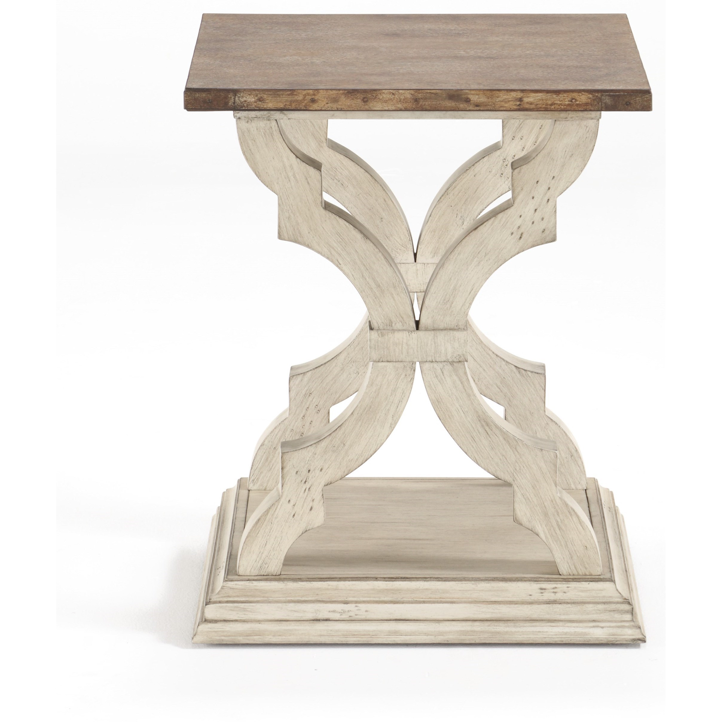 Estate Chairside Table by Flexsteel Wynwood Collection at Northeast Factory Direct