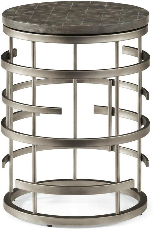 Halstead Halstead Chairside Table by Flexsteel Wynwood Collection at Morris Home