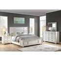 Flexsteel Wynwood Collection Harmony California King Bedroom Group - Item Number: W1070 CK Bedroom Group 7