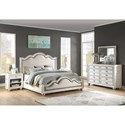 Flexsteel Wynwood Collection Harmony Queen Bedroom Group - Item Number: W1070 Q Bedroom Group 3