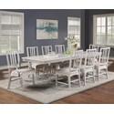Flexsteel Wynwood Collection Harmony 7-Piece Dining Table Set - Item Number: W1070-831+6x840+2x841
