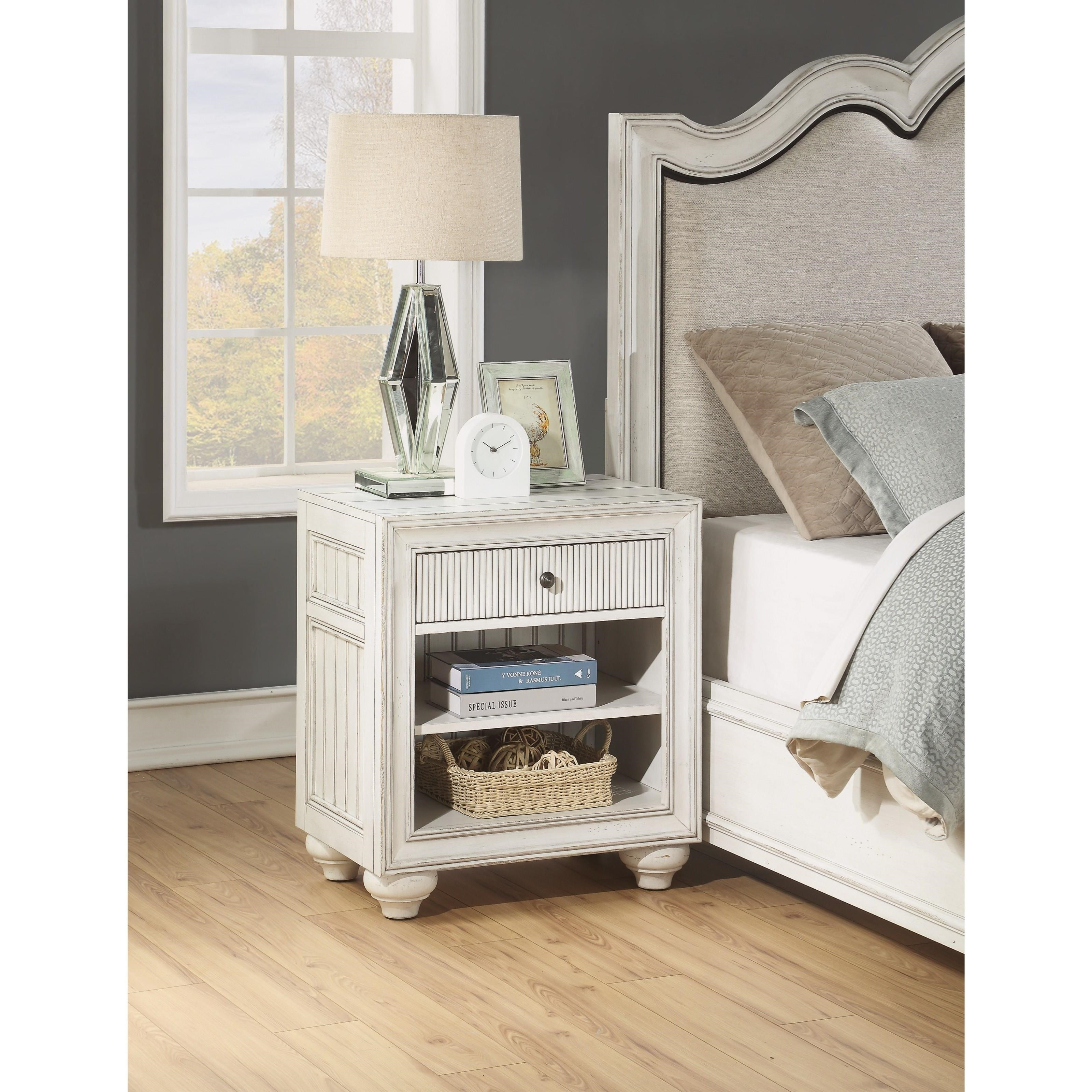 Harmony Open Nightstand by Flexsteel Wynwood Collection at Northeast Factory Direct