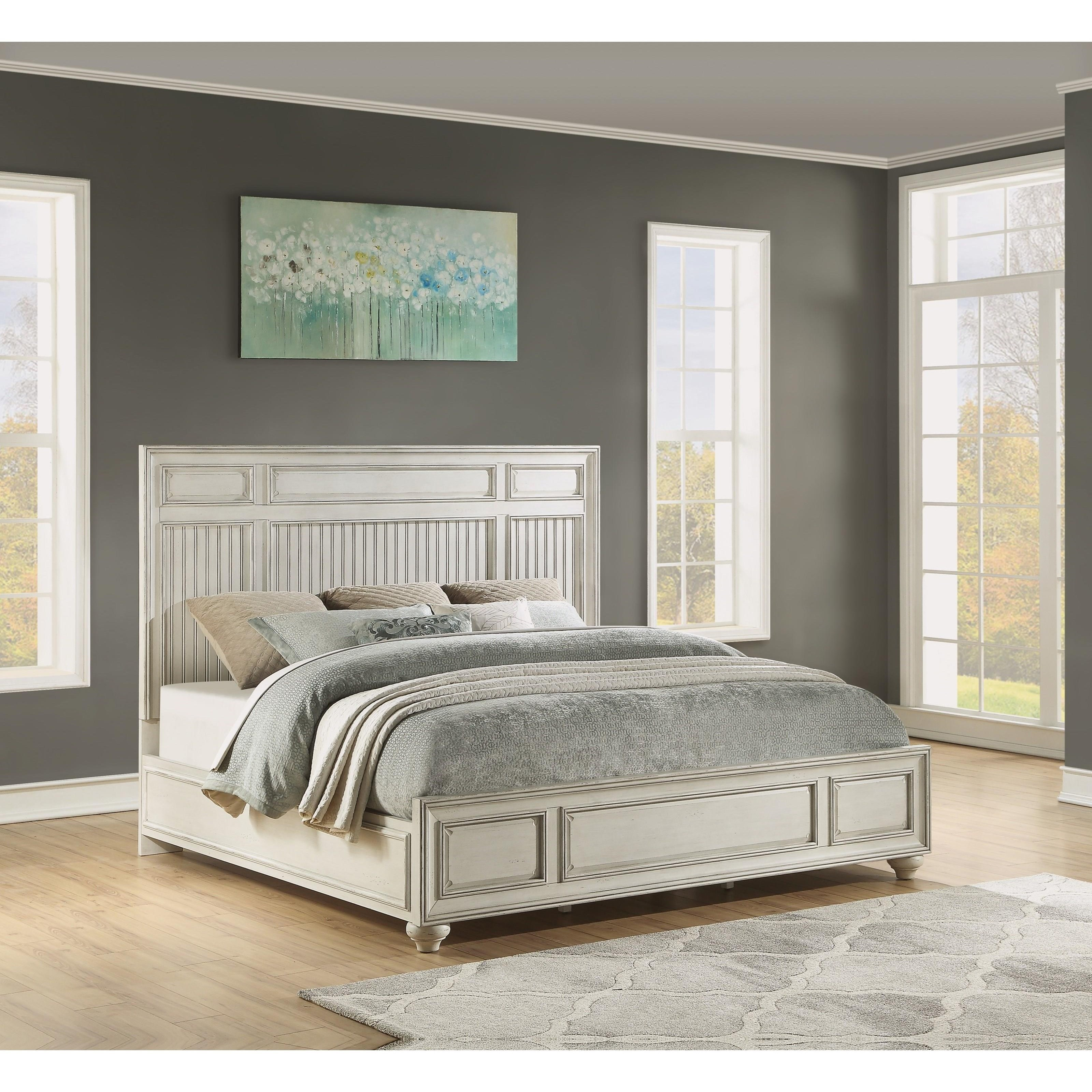 Harmony California King Panel Bed by Flexsteel Wynwood Collection at Northeast Factory Direct