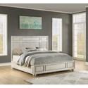 Flexsteel Wynwood Collection Harmony Queen Panel Bed - Item Number: W1070-91Q