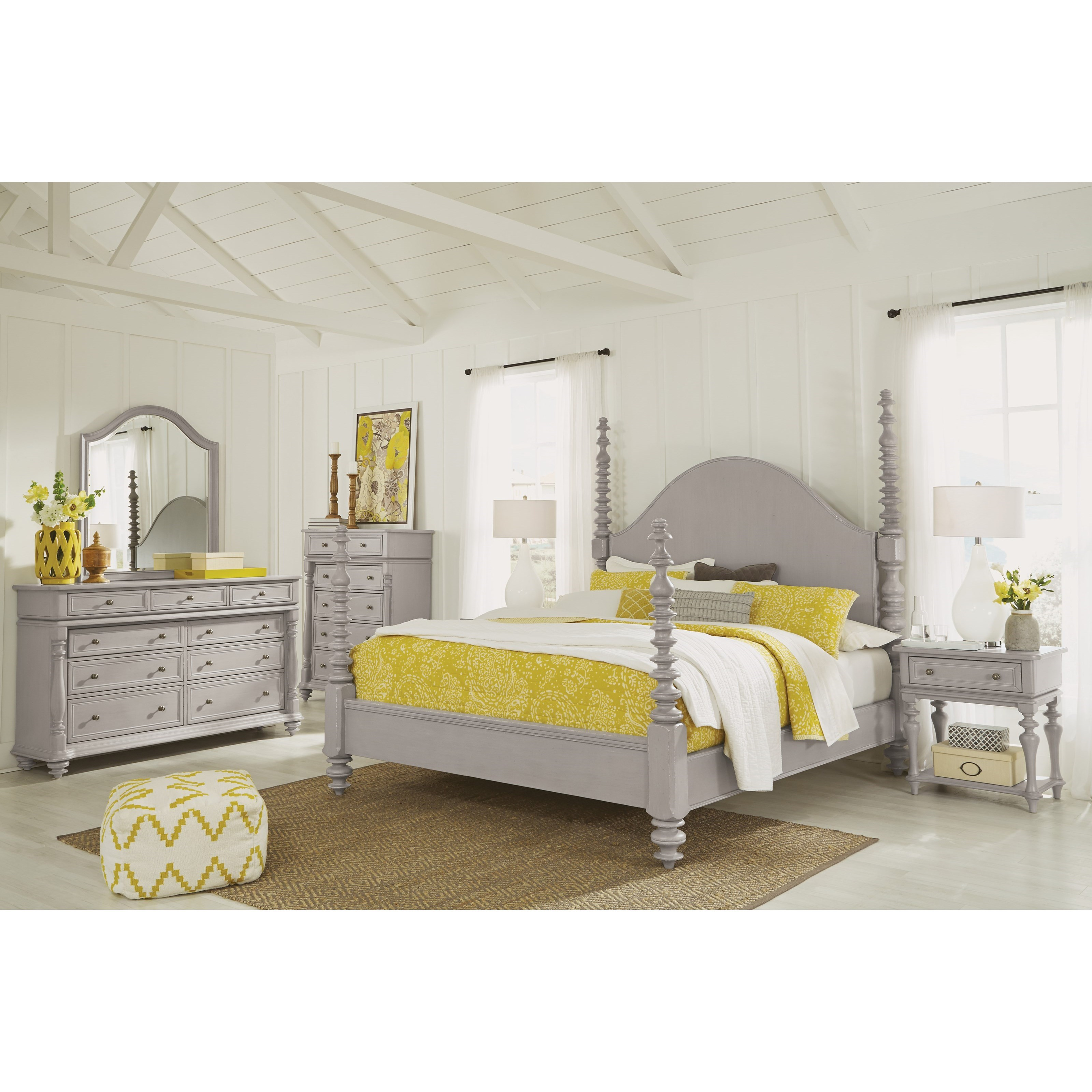Heirloom Queen Bedroom Group by Flexsteel Wynwood Collection at Northeast Factory Direct