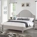 Flexsteel Wynwood Collection Heirloom Cal King Upholstered Bed - Item Number: W1065-91C