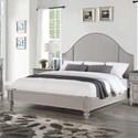 Flexsteel Heirloom King Upholstered Bed - Item Number: W1065-91K