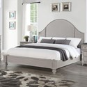 Wynwood, A Flexsteel Company Heirloom Queen Upholstered Bed - Item Number: W1065-91Q