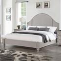 Flexsteel Heirloom Queen Upholstered Bed - Item Number: W1065-91Q