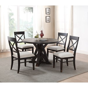 Flexsteel Wynwood Collection Homestead Table and Chair Set