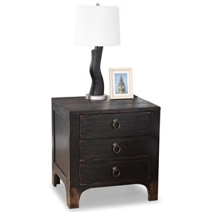 Flexsteel Wynwood Collection Homestead Night Stand