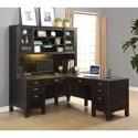 Flexsteel Wynwood Collection Homestead L-Shaped Desk  - Item Number: W1337-741