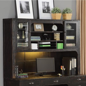 Flexsteel Wynwood Collection Homestead Hutch