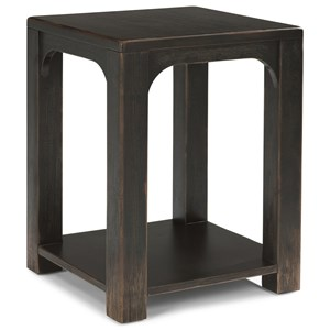 Flexsteel Wynwood Collection Homestead Chairside Table