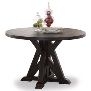 Flexsteel Wynwood Collection Homestead Round Dining Table