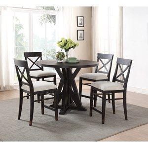 Flexsteel Wynwood Collection Homestead Counter Height Table and Chair Set