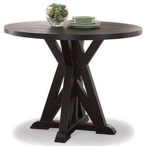 Flexsteel Wynwood Collection Homestead Round Counter Table