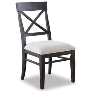Flexsteel Wynwood Collection Homestead Armless Side Chair