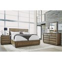 Flexsteel Wynwood Collection Maximus California King Bedroom Group - Item Number: W1044 CK Bedroom Group 4