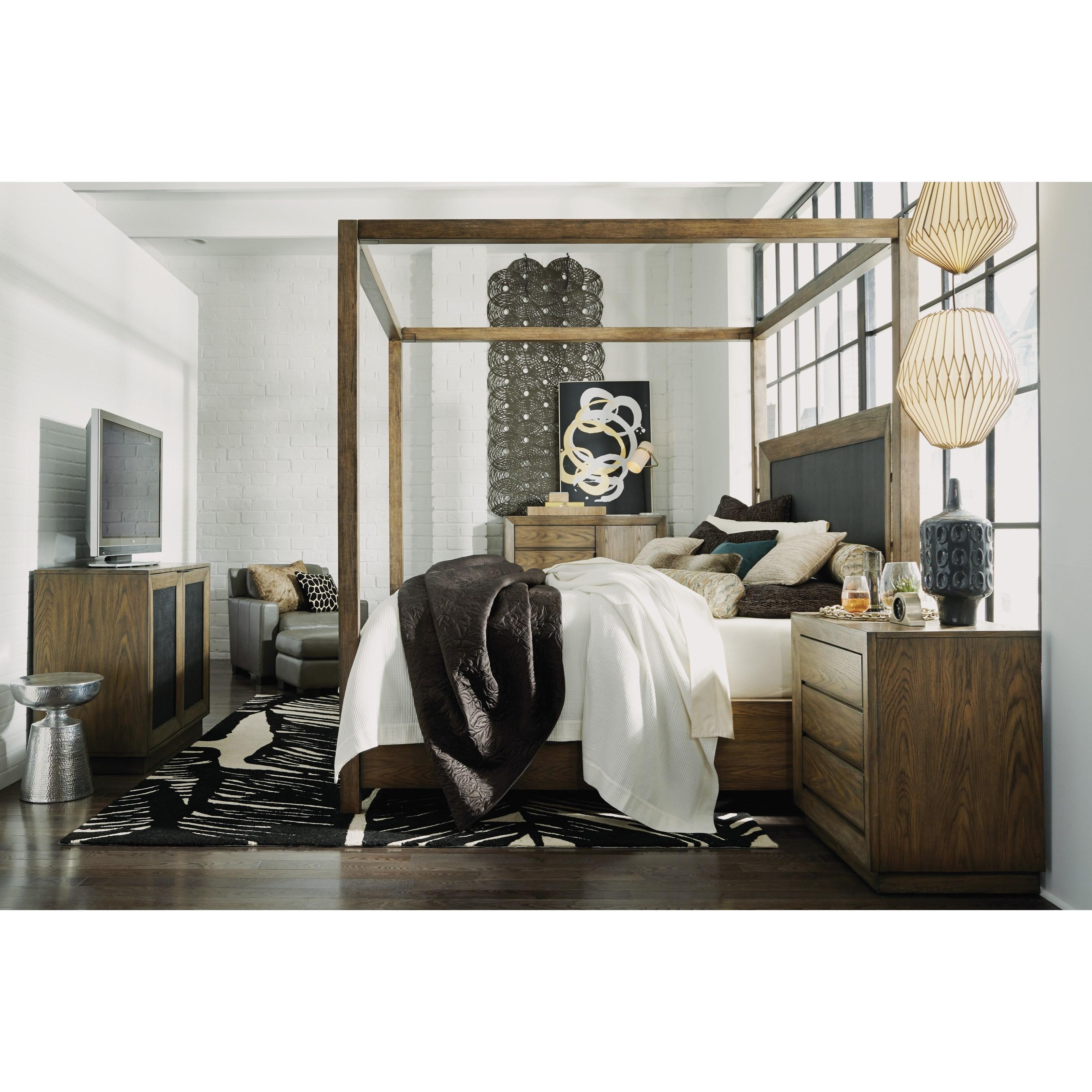 Flexsteel Wynwood Collection Maximus Casual California King Bedroom